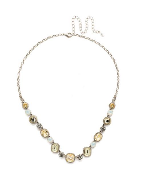 Sorrelli Lemon Zest- Embellished Elegance Necklace~ NDK14ASLZ