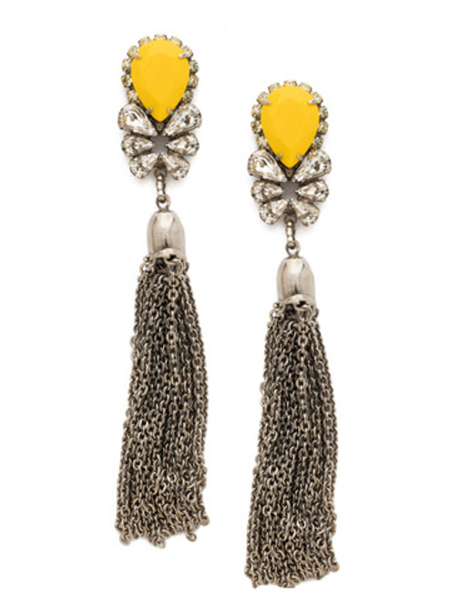 LEMON ZEST CRYSTAL EARRINGS BY SORRELLI ECT8ASLZ