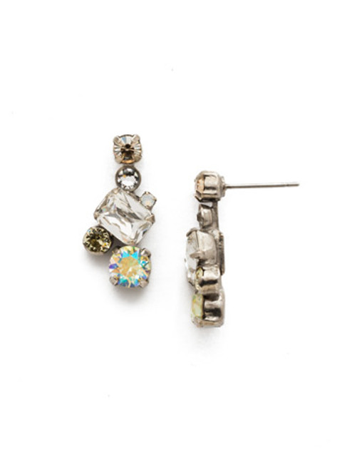 Sorrelli pouch Zest Crystal Earrings