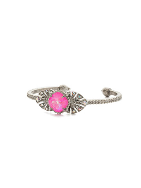 special order pink mutiny crystal bracelet by sorrelli bcj1aspmu
