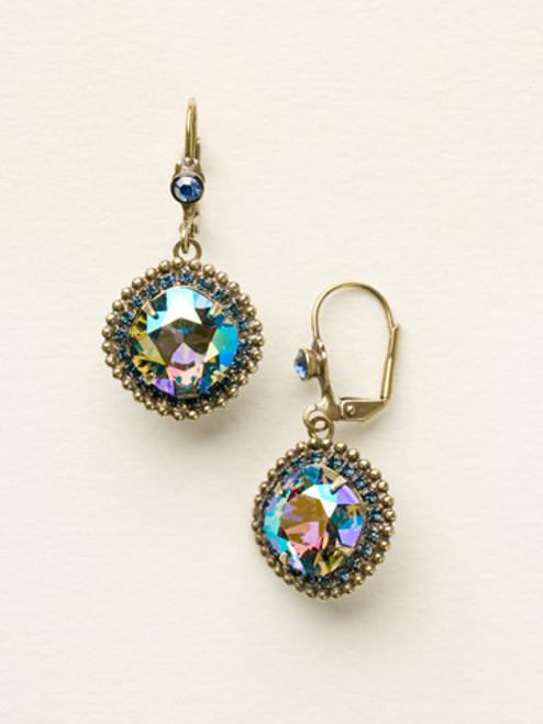 Sorrelli Dress Blues Crystal Earrings
