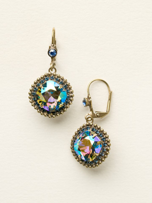 Sorrelli Dress Blues Crystal Earrings ecb20agdbl
