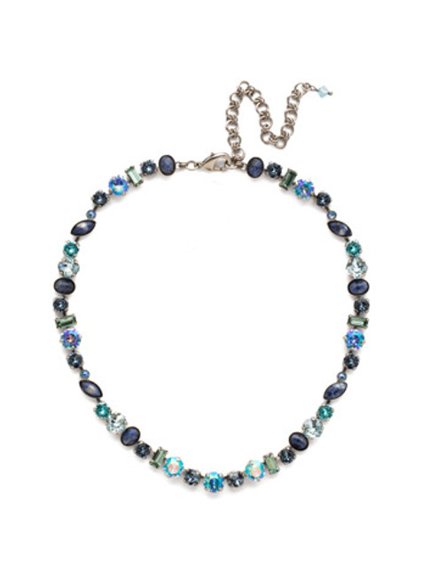 BLUE SUEDE NECKLACE BY SORRELLI NDR16ASBSD
