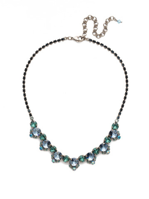 BLUE SUEDE NECKLACE BY SORRELLI NDX9ASBSD
