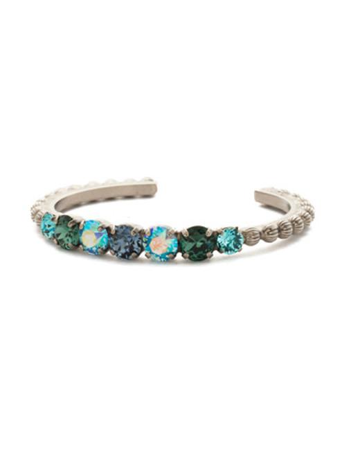 Sorrelli Blue Suede Crystal Bracelet bdq24asbsd