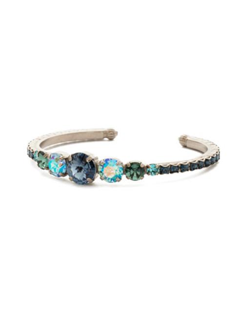 Sorrelli Blue Suede Crystal Bracelet