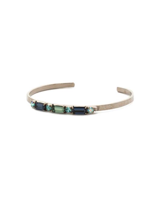 Sorrelli Blue Suede Crystal Bracelet bdk50asbsd