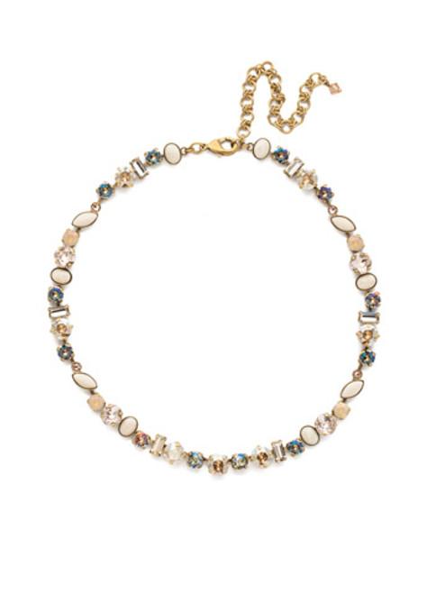 Sorrelli Sandstone- Constantia Necklace~ NDR16AGSTN