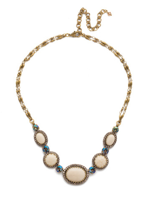 SANDSTONE NECKLACE BY SORRELLI NDW70AGSTN