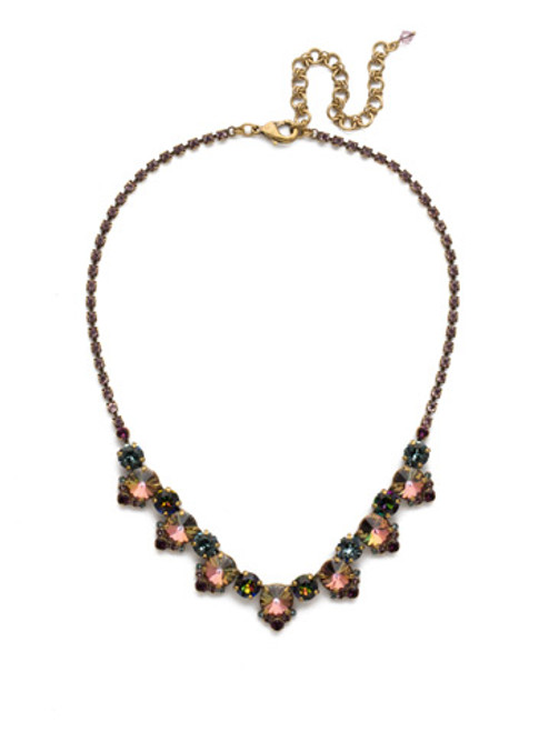 ROYAL PLUM NECKLACE BY SORRELLI NDX9AGROP