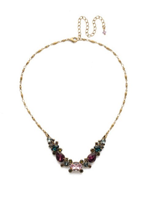 ROYAL PLUM NECKLACE BY SORRELLI NDS49AGROP