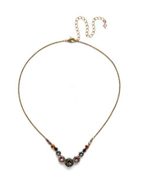Sorrelli Sandstone Crystal Necklace