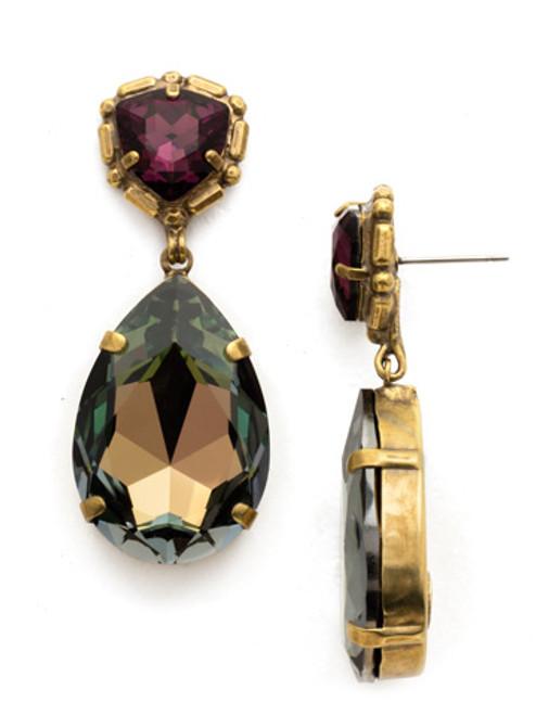 Sorrelli Sandstone Gold Crystal Earring