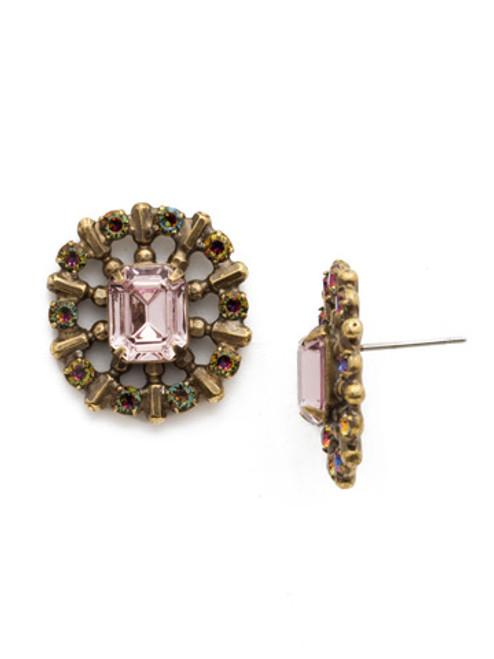 Sorrelli Sandstone Crystal Earrings edw60agrop