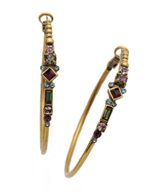 **SPECIAL ORDER**ROYAL PLUM EARRING BY SORRELLI~EDS25AGROP