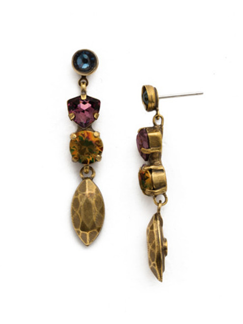 **SPECIAL ORDER**ROYAL PLUM EARRING BY SORRELLI~EDX2AGROP