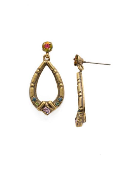 Sorrelli Royal Plum- Ficus Earrings~ EDX23AGROP