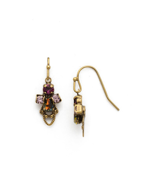 ROYAL PLUM EARRING BY SORRELLI EDS33AGROP