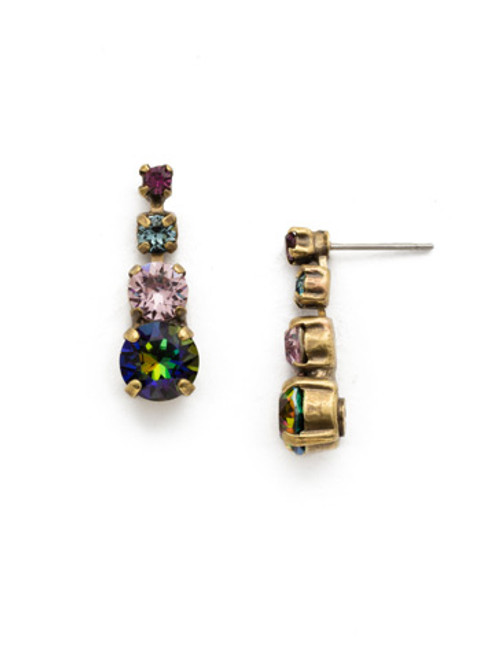 ROYAL PLUM EARRING BY SORRELLI EDA14AGROP