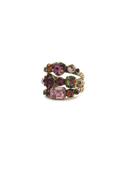 ROYAL PLUM RING BY SORRELLI RDX1AGROP