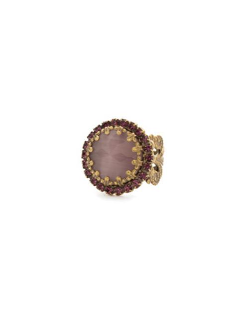 Sorrelli Sandstone Crystal Ring rdw70agrop