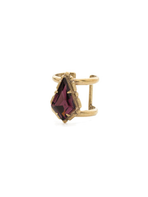 Sorrelli Sandstone Crystal Ring 27200