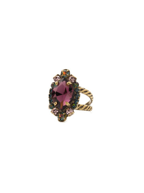 ROYAL PLUM RING BY SORRELLI RDS44AGROP