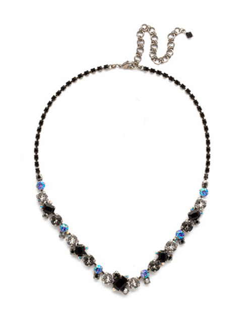 BLACK TIE NECKLACE BY SORRELLI NDK17ASBLT