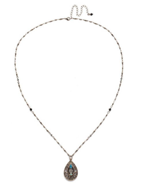 **SPECIAL ORDER** BLACK TIE NECKLACE BY SORRELLI~NDS5ASBLT