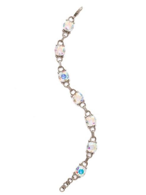 Sorrelli Crystal Aurora Borealis- Eyelet Line Bracelet~ BDN16ASCAB