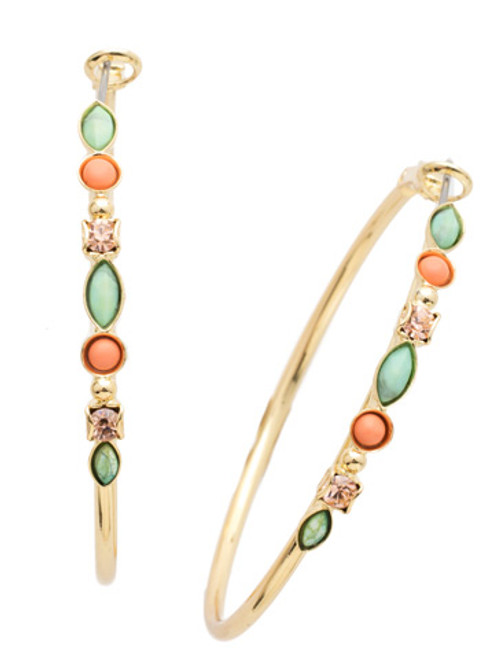 Sorrelli Mango Tango Crystal Earrings