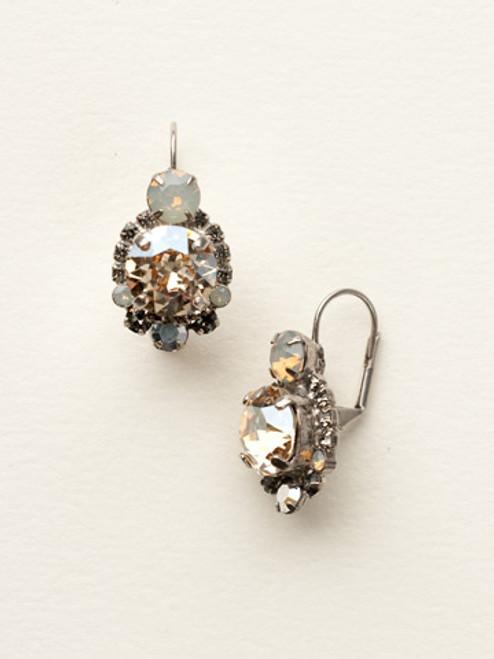 Sorrelli Golden Shadow Crystal Earrings