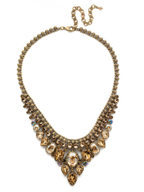NEUTRAL TERRITORY CRYSTAL NECKLACE BY SORRELLI NDQ3AGNT