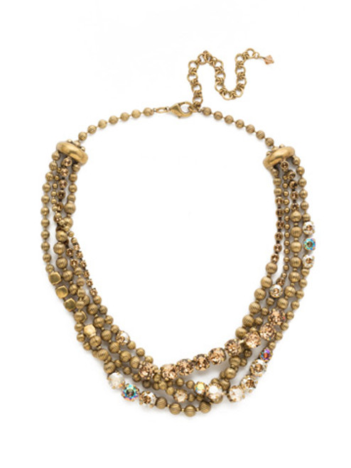 NEUTRAL TERRITORY CRYSTAL NECKLACE BY SORRELLI NDQ5AGNT