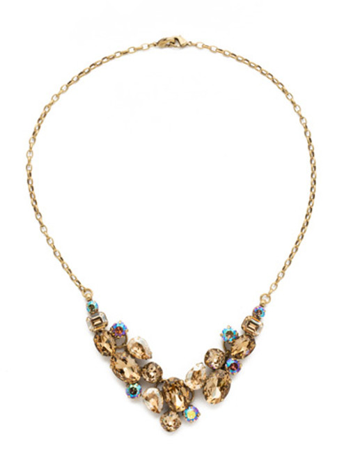 NEUTRAL TERRITORY CRYSTAL NECKLACE BY SORRELLI NDQ6AGNT