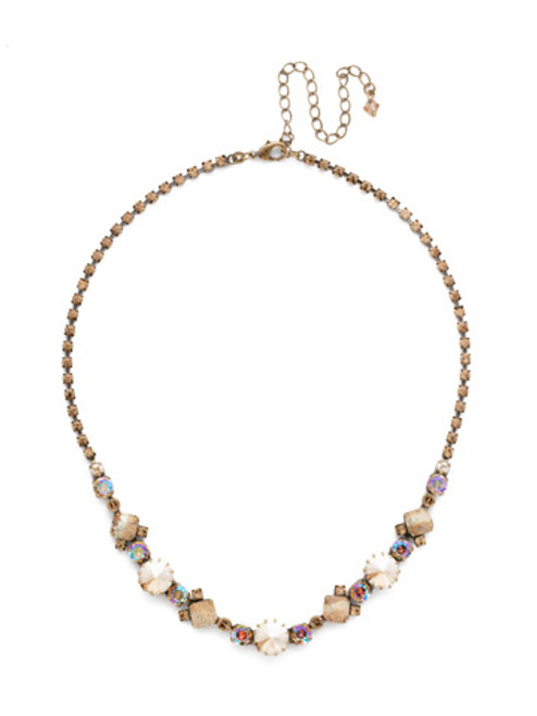 NEUTRAL TERRITORY CRYSTAL NECKLACE BY SORRELLI