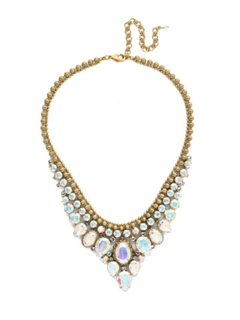 SNOWFLAKE CRYSTAL NECKLACE BY SORRELLI NDQ3AGSNF