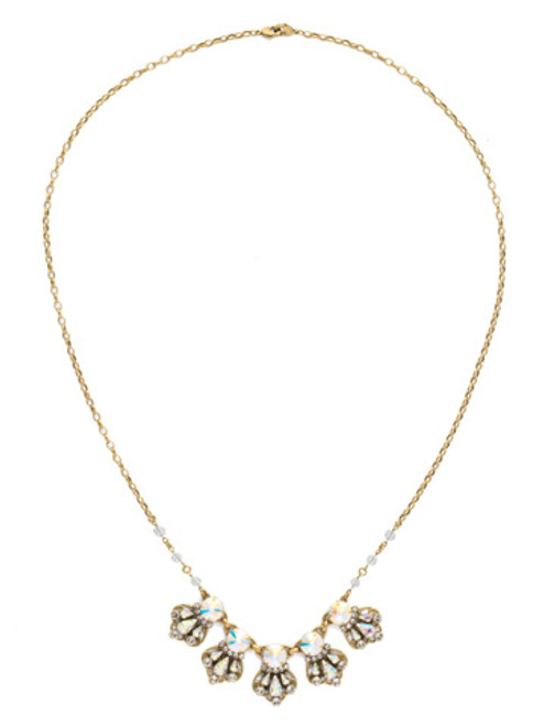 SNOWFLAKE CRYSTAL NECKLACE BY SORRELLI NDS21AGSNF