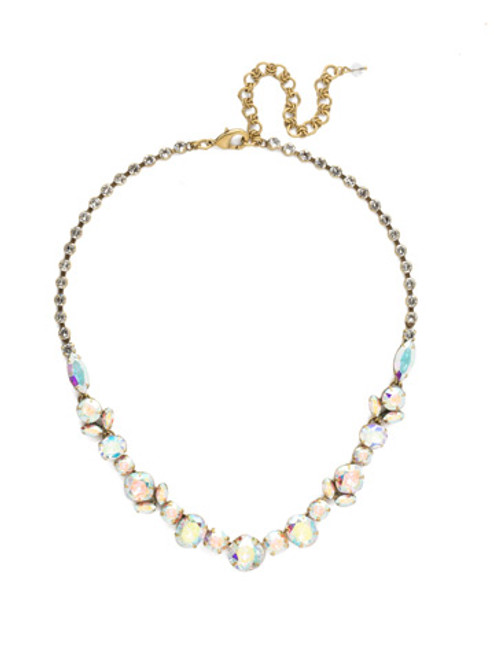 SNOWFLAKE CRYSTAL NECKLACE BY SORRELLI NDT6AGSNF