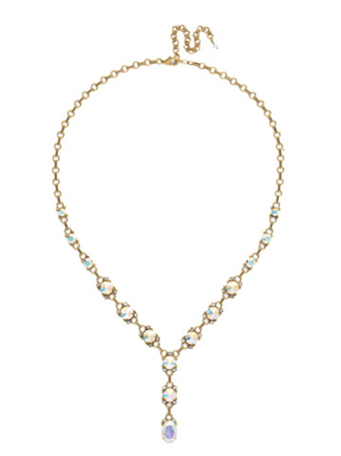 SNOWFLAKE CRYSTAL NECKLACE BY SORRELLI NDK63AGSNF