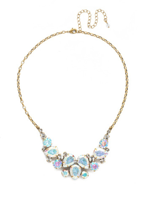 SNOWFLAKE CRYSTAL NECKLACE BY SORRELLI NDJ14AGSNF