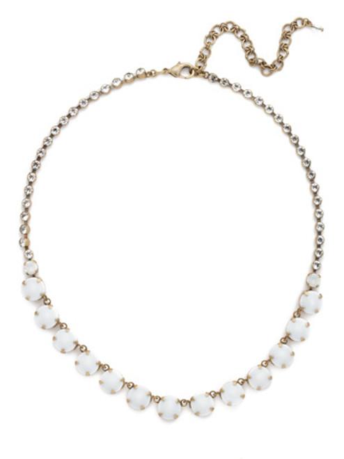 PEARL LUSTER Crystal Necklace by Sorrelli NCU19AGPLU