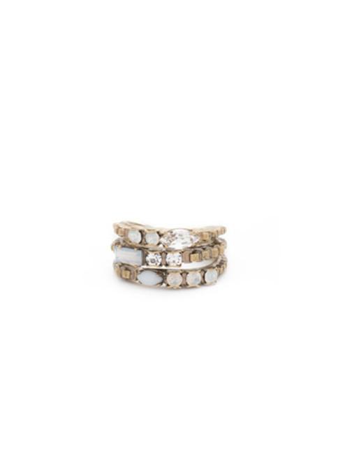 Sorrelli PEARL LUSTER Ring rct29agplu