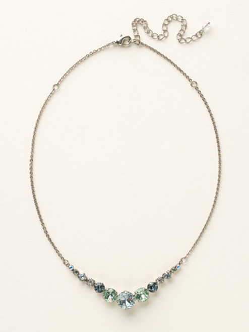 Silver CRYSTAL NECKLACE BY SORRELLI