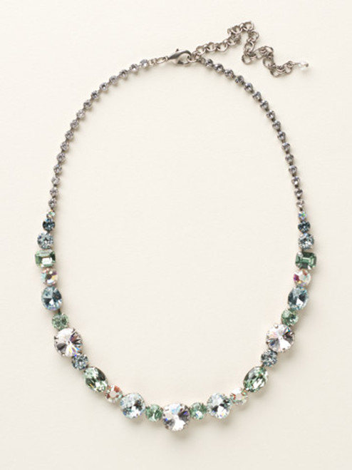 SEASIDE CRYSTAL NECKLACE BY SORRELLI ncp38assea