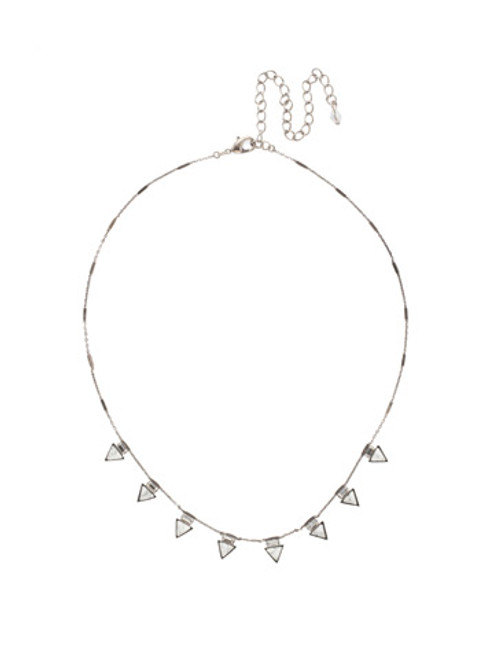 White Howlite Crystal Necklace