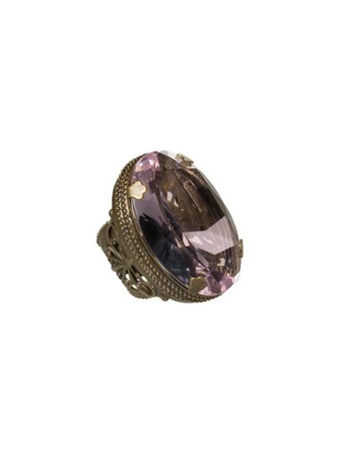 Sorrelli Lollipop Crystal Ring RCA1AGLP
