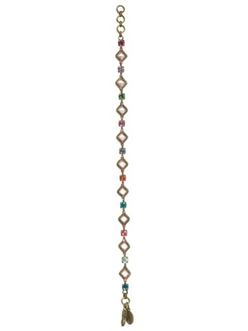 Sorrelli Lollipop Crystal Bracelet bca10aglp