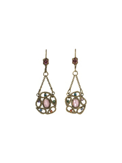Sorrelli Lollipop Crystal Earrings ECA24AGLP