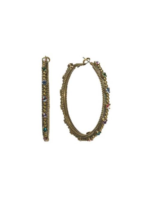 Sorrelli Lollipop Crystal Earrings EBZ4AGLP